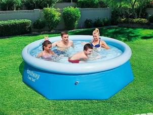 Bestway Swimming Pool Ø 244 cm