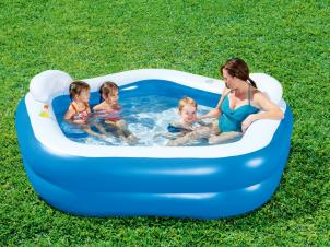 Bestway Swimming Pool 213x207 cm