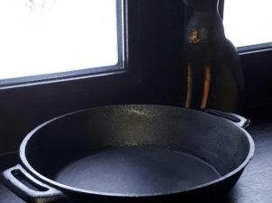 Cast Iron Pan Ø 30 cm DEEP
