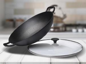 Cast Iron Pan Ø 36 cm WOK