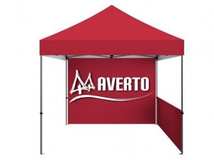 Customizable folding tent (logo)