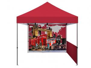 Customizable folding tent (1 Seitenwand)