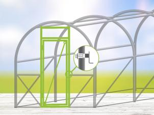 Greenhouse Door Kit