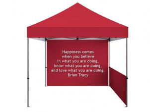 Customizable folding tent (Text)