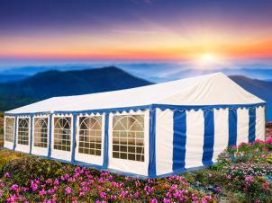 Party Tents PVC and PE
