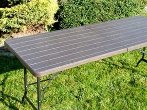 Folding table WOOD 180 cm
