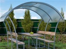 POLYCARBONATE GAZEBO CITY