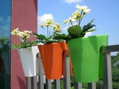 Flower pots BALCONE
