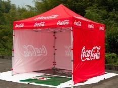 Customizable folding tents