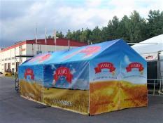 Customizable PVC tents