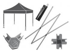 Запасные части для шатров