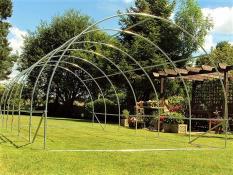 Greenhouses frame