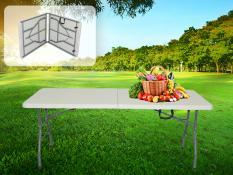 Folding table 244x76x74 cm