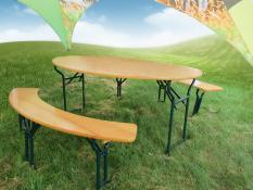 1 table + 2 benches VENETO