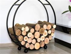 FIREPLACE LOG BASKETS & HOLDERS