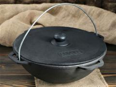12 l Cast Iron ASIAN with Lid