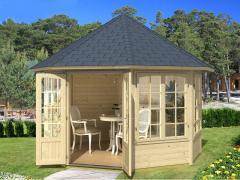 Gartenhaus Modell EMMA 4F