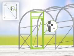 Greenhouse Door Kit 4m