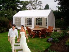 4 x 6 m Pavillon PVC