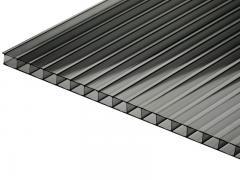 6 m Hohlkammerplatten 6mm SUNNEX BrownGrey
