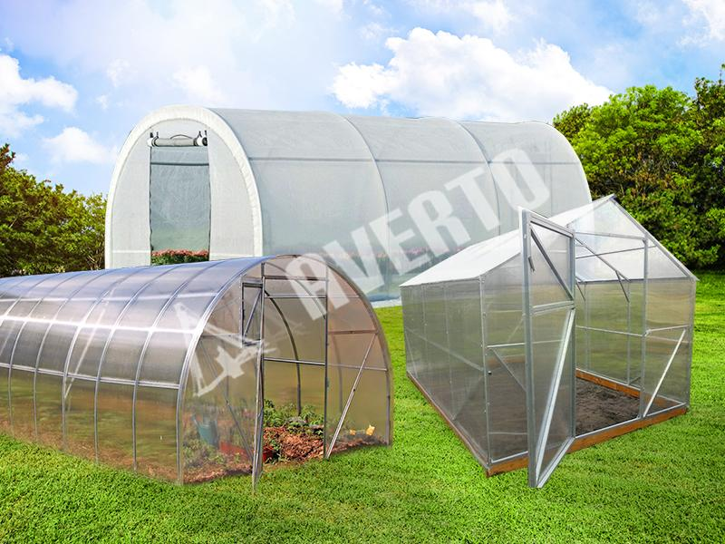 Greenhouses 2x3-6x50 m | Fast delivery and greet prices