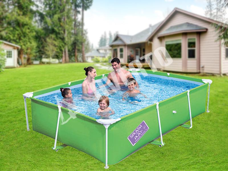 rechteck frame pool bestway bestway schwimmbecken. Black Bedroom Furniture Sets. Home Design Ideas