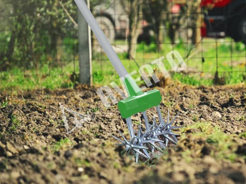 Rotary cultivator lawn aerator freund victoria for Gardening tools victoria