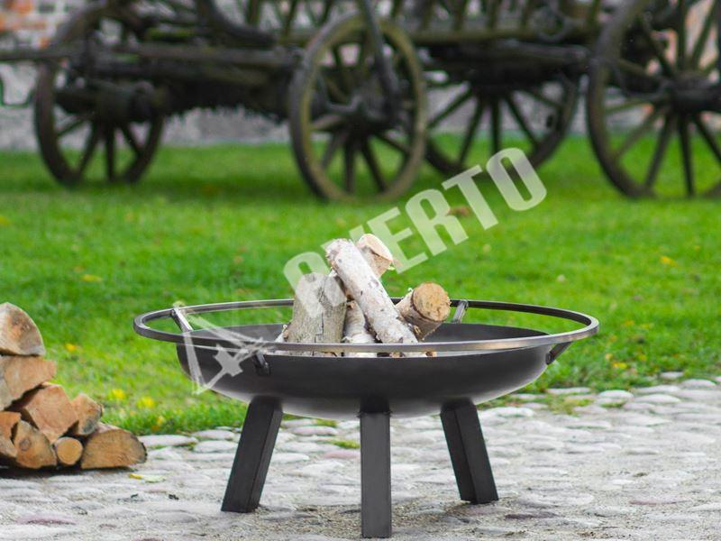 Round Fire bowl Arena 80 cm to burn dry wood 67efa920257c3