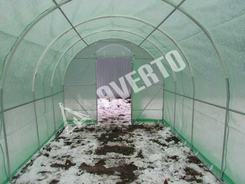 tunnel gew chshaus porta 3x8 m gew chsh user kaufen im online shop. Black Bedroom Furniture Sets. Home Design Ideas