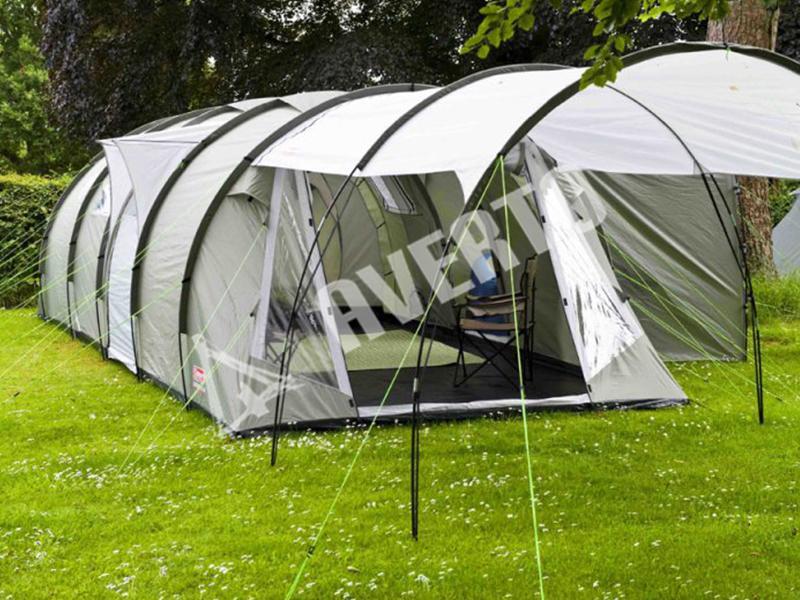 ... coleman-coastline-8-deluxe-9 ... & Tent with 4 separate bedrooms Coleman Coastline™ 8 Deluxe