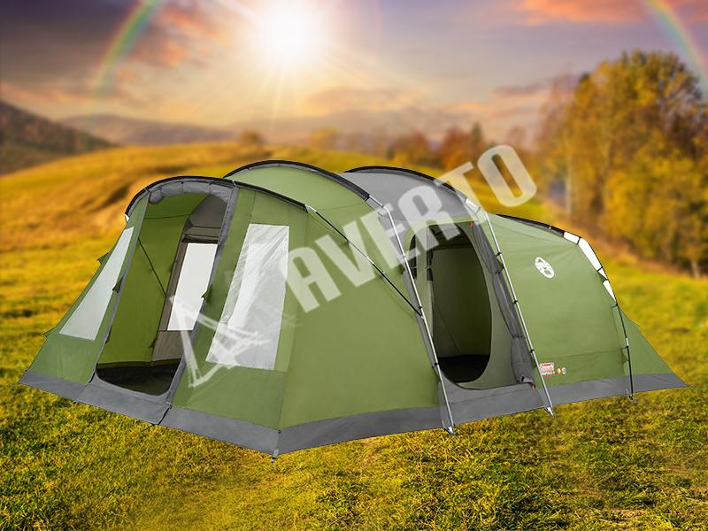 Coleman 174 Vespucci 6 Six Person Family Camping Tent