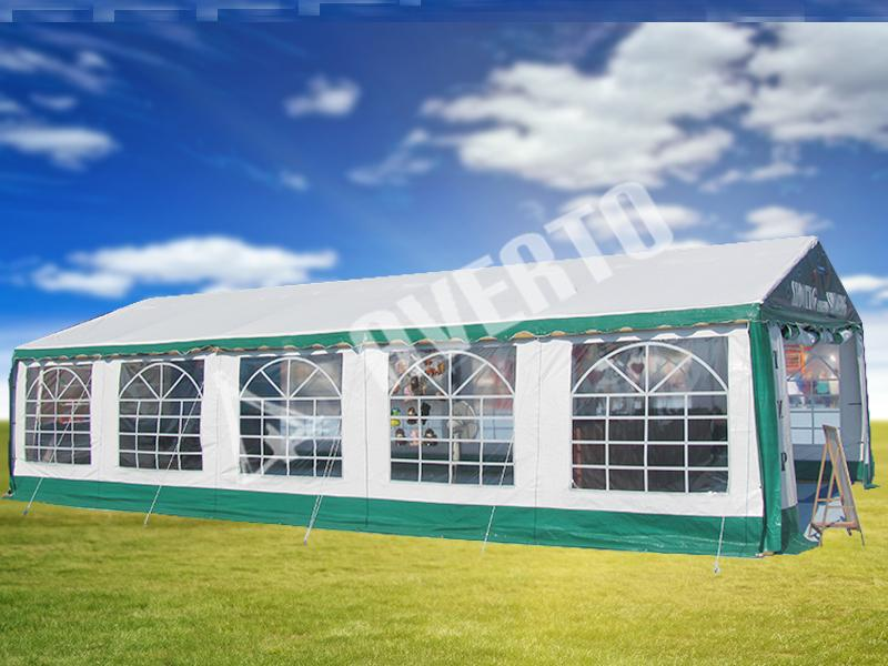 5 x 10 m PE Party Tent & PE canopies 5x10 m for celebrating birthdays outdoors