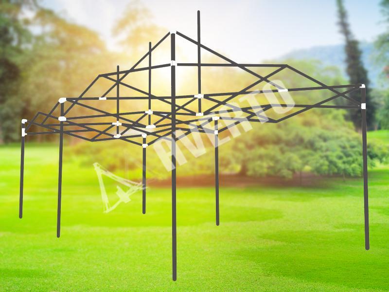Zelt 3x6 m Stahlrahmen | Faltzelte & Pavillons
