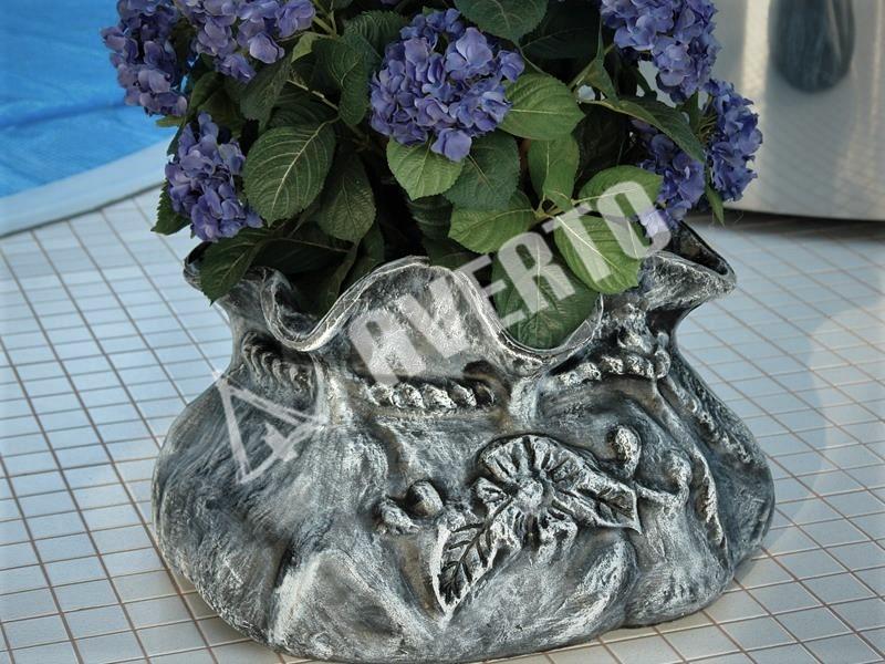 Работы из бумаги: пляжная сумка с цветком плетение из